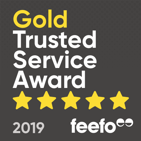gold trusted feefo service